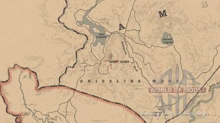 Mapa de casco Morion en RDR 2