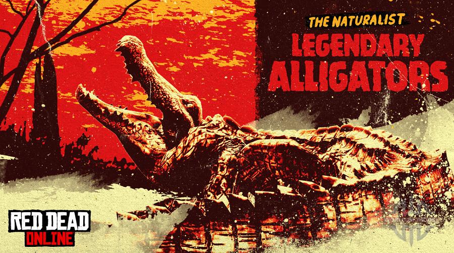 Nuevos animales legendarios: caimanes Teca y solar