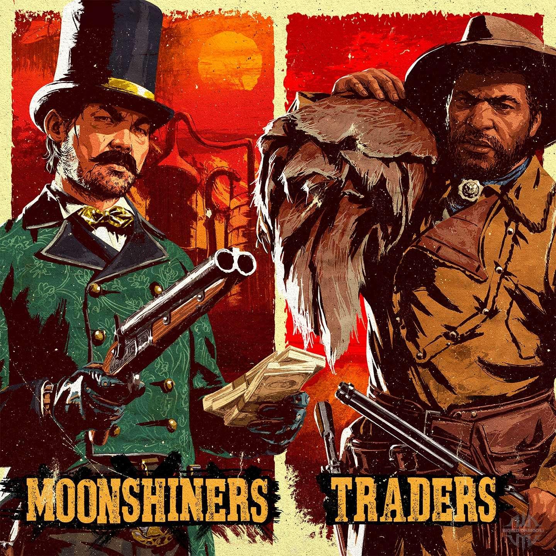 Traders et moonshiners dans Red Dead En ligne