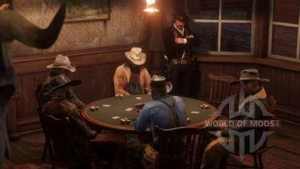 Juegos de mesa en RDR 2