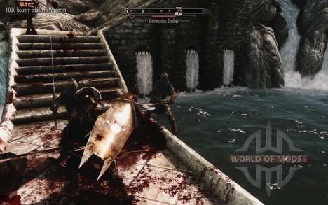 Un conjunto de armadura y las armas de las Uruk- para Skyrim sexta pantalla