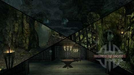 Mansión siniestra para Skyrim quinta pantalla