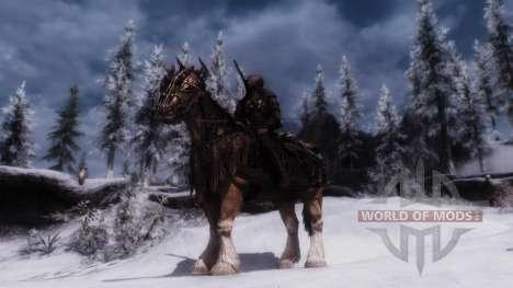 Armadura para caballos para Skyrim segunda pantalla