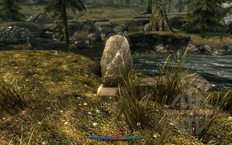 Los cadáveres de limpieza para el cuarto Skyrim pantalla