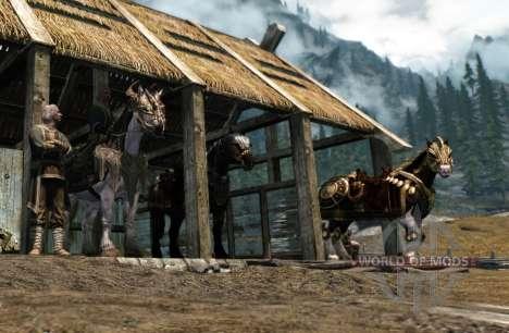 Armadura para caballos para Skyrim quinta pantalla