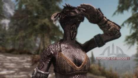 Olvidado argonianskie raíces para Skyrim segunda pantalla