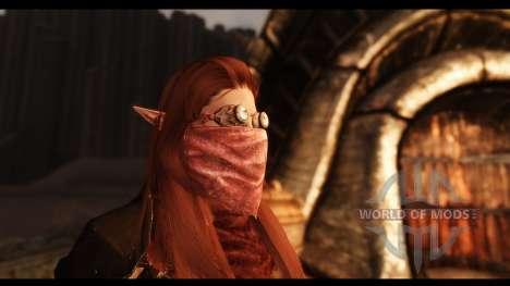 Máscaras faciales para Skyrim sexta pantalla