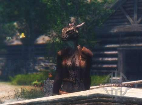 Olvidado argonianskie raíces para el cuarto Skyrim pantalla