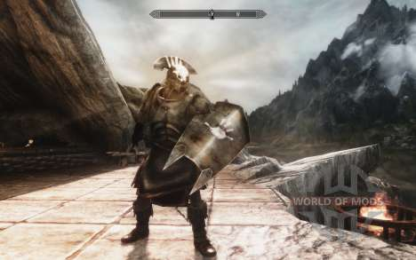 Un conjunto de armadura y las armas de las Uruk- para Skyrim
