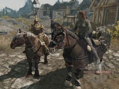 Armadura para caballos para Skyrim undécima de pantalla