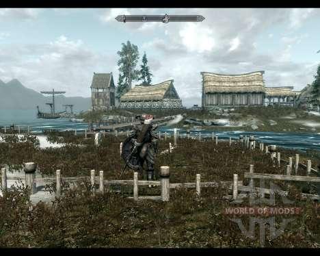 Tierra de alta roca para el tercer Skyrim pantalla