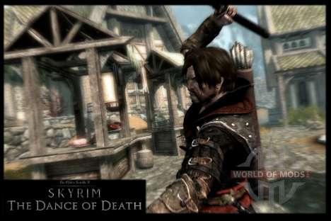 Danza de la muerte v 4.0. Las nuevas animaciones para Skyrim sexta pantalla