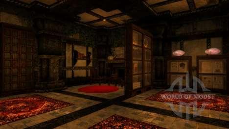 Una pequeña casa en Solit′ûde para Skyrim segunda pantalla