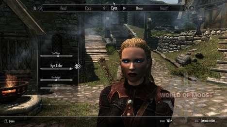 Terminadores de raza para Skyrim segunda pantalla