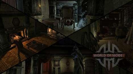 Mansión siniestra para el tercer Skyrim pantalla
