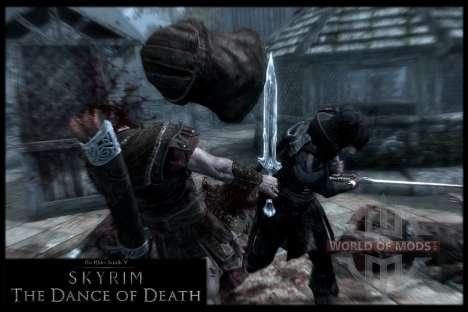 Danza de la muerte v 4.0. Las nuevas animaciones para Skyrim octavo de pantalla
