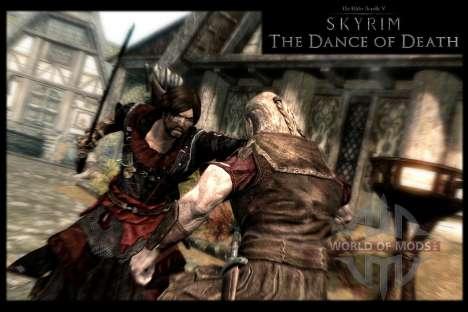 Danza de la muerte v 4.0. Las nuevas animaciones para Skyrim quinta pantalla