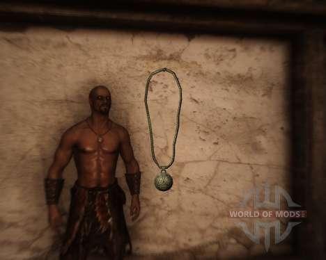 Amuleto de los dioses para Skyrim