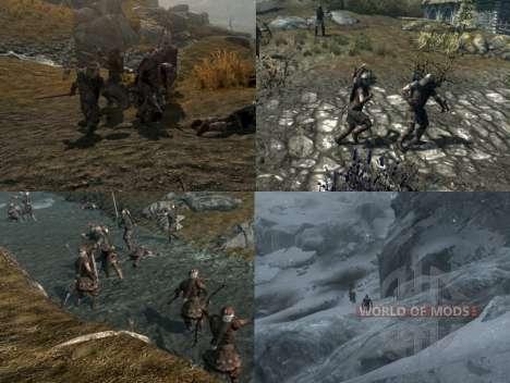 Más guerra en el Skyrim para Skyrim