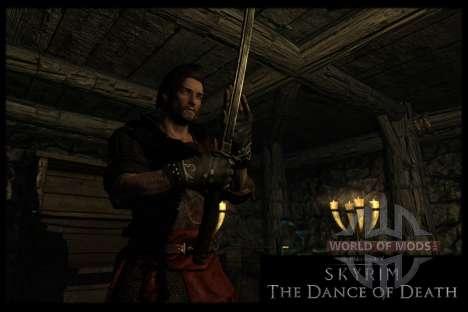 Danza de la muerte v 4.0. Las nuevas animaciones para Skyrim septima pantalla