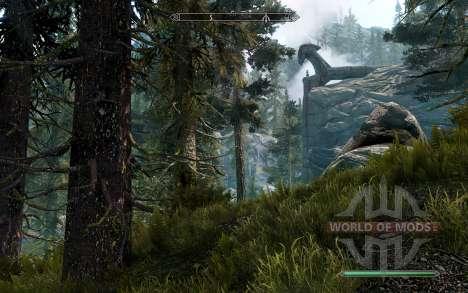 Pino realista para Skyrim