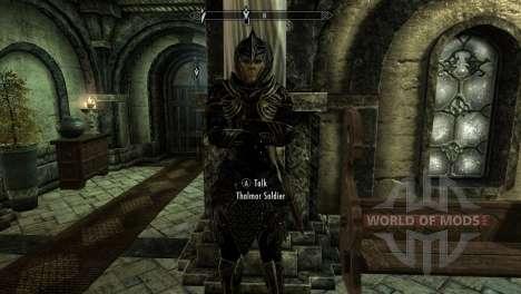 Negro y oro-los elfos de la armadura para el tercer Skyrim pantalla