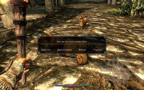Los cadáveres de limpieza para Skyrim septima pantalla