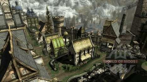 Una pequeña casa en Solit′ûde para el cuarto Skyrim pantalla
