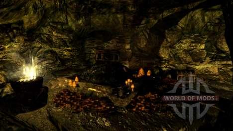 Una pequeña casa en Solit′ûde para el tercer Skyrim pantalla