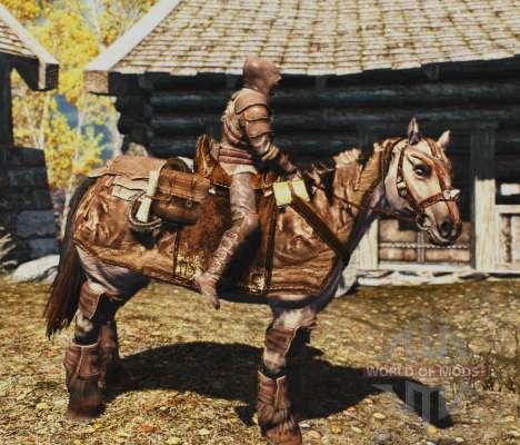 Armadura para caballos para el tercer Skyrim pantalla