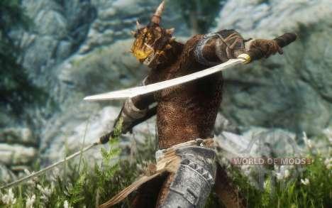 Olvidado argonianskie raíces para Skyrim undécima de pantalla