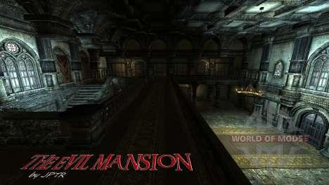 Mansión siniestra para Skyrim segunda pantalla