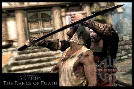 Danza de la muerte v 4.0. Las nuevas animaciones para Skyrim segunda pantalla