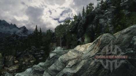 ReFleX ENB para Skyrim segunda pantalla