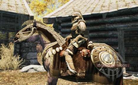Armadura para caballos para Skyrim octavo de pantalla