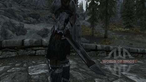 Nordskij espada con funda para Skyrim