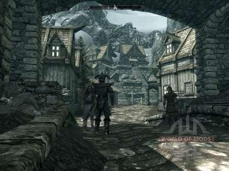 Tierra de alta roca para Skyrim segunda pantalla