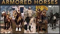 Armadura para caballos