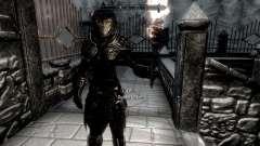 Negro y oro-los elfos de la armadura