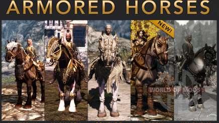 Armadura para caballos para Skyrim