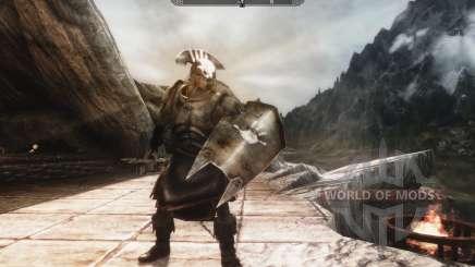 Un conjunto de armadura y las armas de las Uruk-Hai para Skyrim