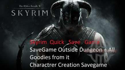La red de ahorro después de la entrada en vigor de la para Skyrim