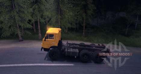 KAMAZ 55102 para Spin Tires
