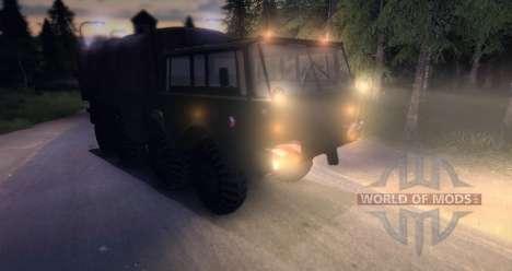 Tatra 813 8 x 8 Final ejército Checo para Spin Tires