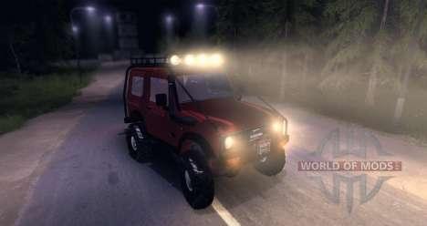 Suzuki Samurai SJ 413 FULL para Spin Tires
