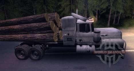 Camión MACK Log para Spin Tires