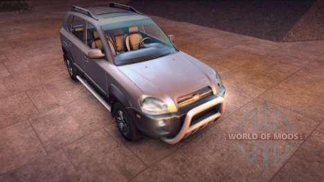Hyundai Tucson para Spin Tires
