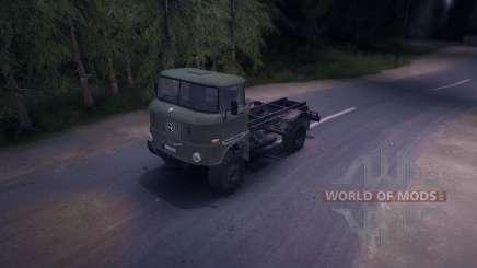 IFA W50LA para Spin Tires