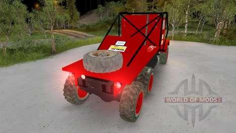 Praga V3S Truck Trial para Spin Tires