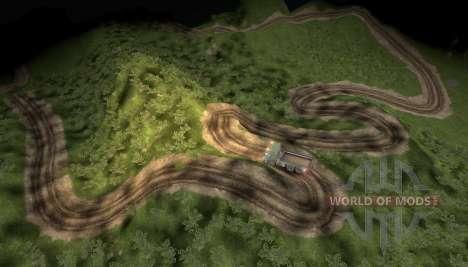 Mapa de las aventuras extremas camión para Spin Tires